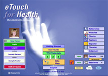 eTouch for Health software